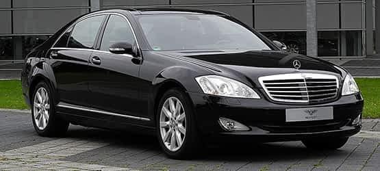 Mercedes luxus limuzin
