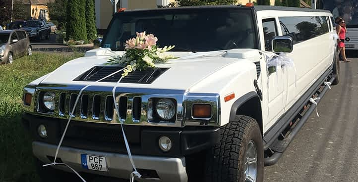 Hummer limuzim esküvőre